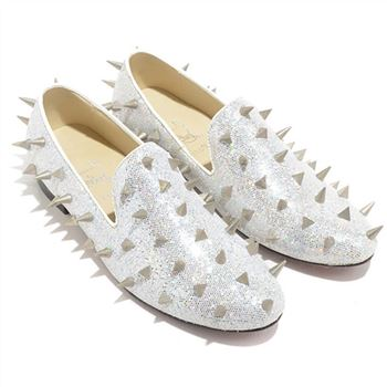 Christian Louboutin Rollerboy Loafers White