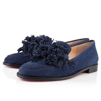 Christian Louboutin Japonaise Loafers Navy