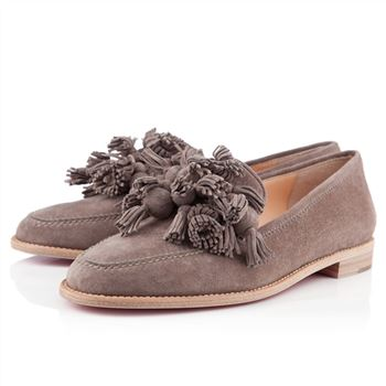 Christian Louboutin Japonaise Loafers Taupe
