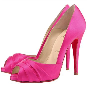 Christian Louboutin Matrinana 100mm Special Occasion Rose Matador