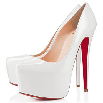 Christian Louboutin Daffodile 160mm Platforms Off White