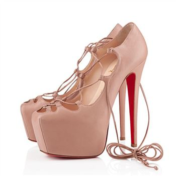 Christian Louboutin Ghildarc 160mm Platforms Nude