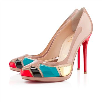 Christian Louboutin Astrogirl 120mm Pumps Nude