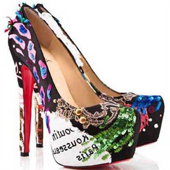 Christian Louboutin Daffodile 160mm Platforms Multicolor