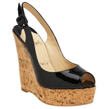 Christian Louboutin Uue Plume 140mm Wedges Black