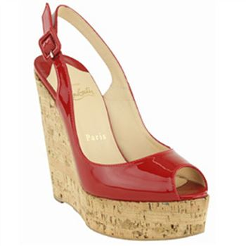 Christian Louboutin Uue Plume 140mm Wedges Red