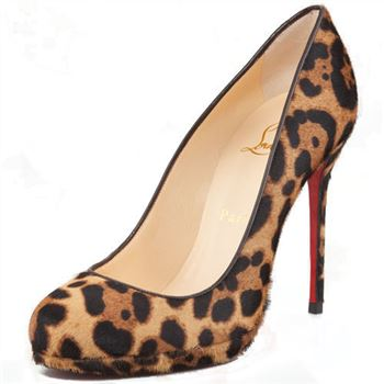 Christian Louboutin Filo 120mm Pumps Leopard