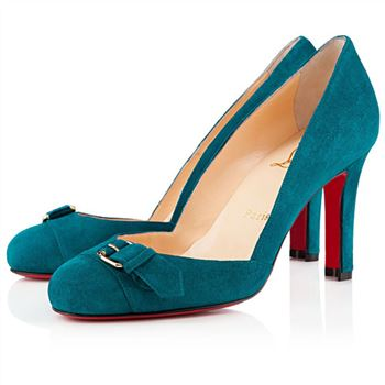 Christian Louboutin Lilibelt 100mm Pumps Peacock