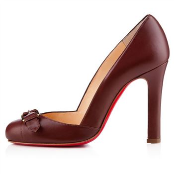 Christian Louboutin Lilibelt 100mm Pumps Havane