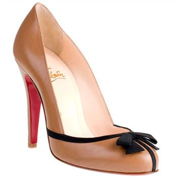 Christian Louboutin Lavalliere 100mm Pumps Taupe