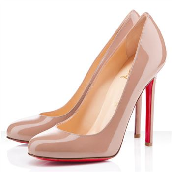 Christian Louboutin Lady Lynch 120mm Pumps Nude