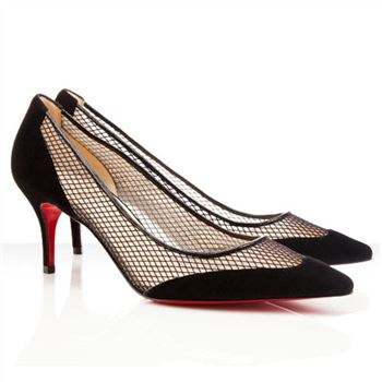 Christian Louboutin Mireille Mesh 80mm Pumps Black
