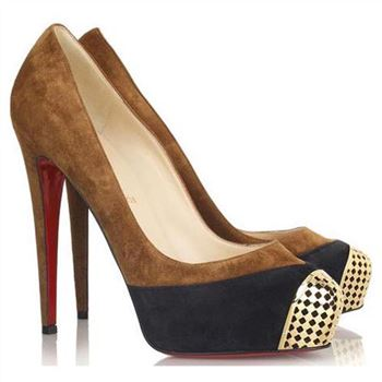 Christian Louboutin Maggie 140mm Pumps Brown