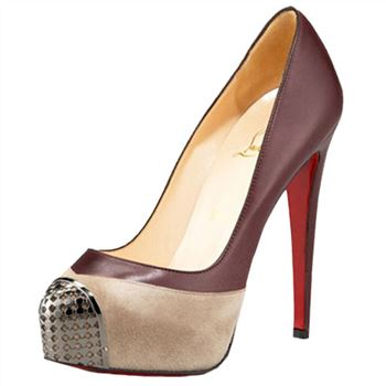 Christian Louboutin Maggie 140mm Pumps Sepia