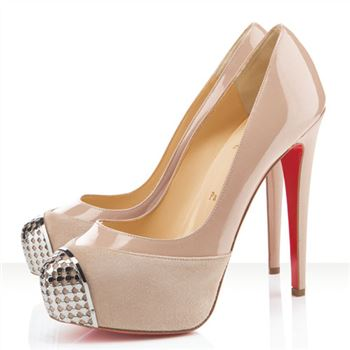Christian Louboutin Maggie 140mm Pumps Nude