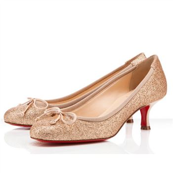 Christian Louboutin Neo Mars 40mm Pumps Nude