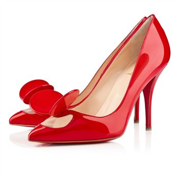 Christian Louboutin Madame mouse 100mm Pumps Red