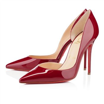 Christian Louboutin Iriza 100mm Pumps Red