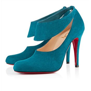 Christian Louboutin Miss zorra 100mm Pumps Turquoise