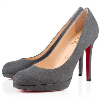 Christian Louboutin New Simple 120mm Pumps Grey