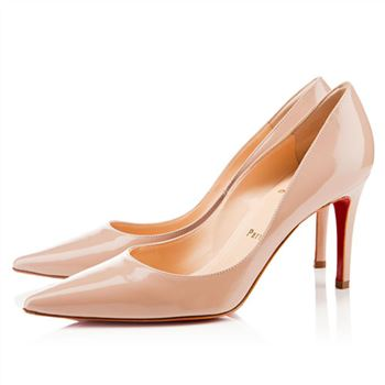 Christian Louboutin New Decoltissimo 80mm Pumps Nude