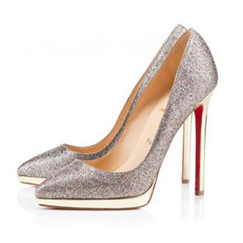 Christian Louboutin Pigalle Plato 120mm Pumps Multicolor