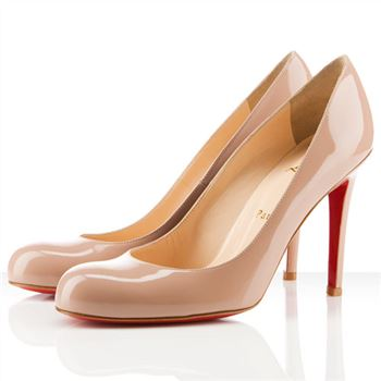 Christian Louboutin Simple 100mm Pumps Nude