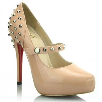 Christian Louboutin Mad 120mm Mary Jane Pumps Pink