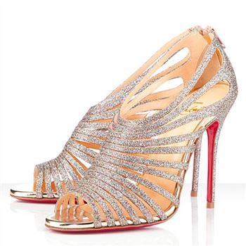 Christian Louboutin Multibrida 100mm Peep Toe Pumps Multicolor