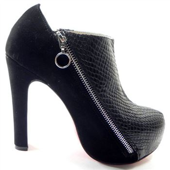 Christian Louboutin 4A 120mm Ankle Boots Black