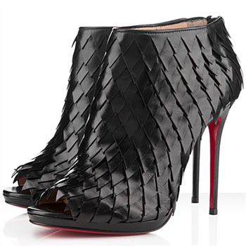 Christian Louboutin Diplonana 120mm Ankle Boots Black
