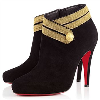 Christian Louboutin Marychal 100mm Ankle Boots Leopard
