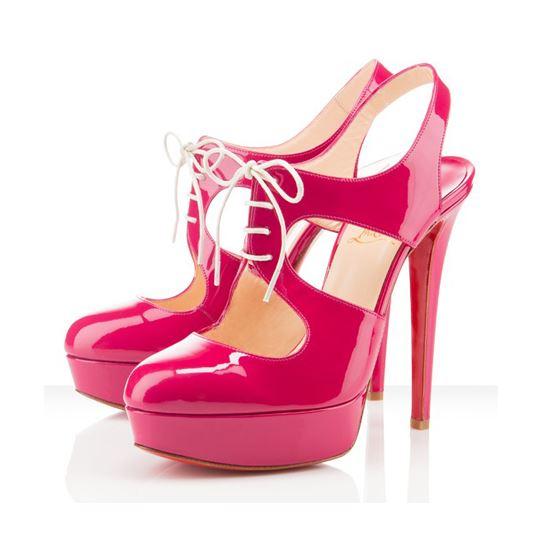 Christian Louboutin Lassaqi 140mm Pumps Rose Matador Christian Louboutin Outlet Louboutin Shoes